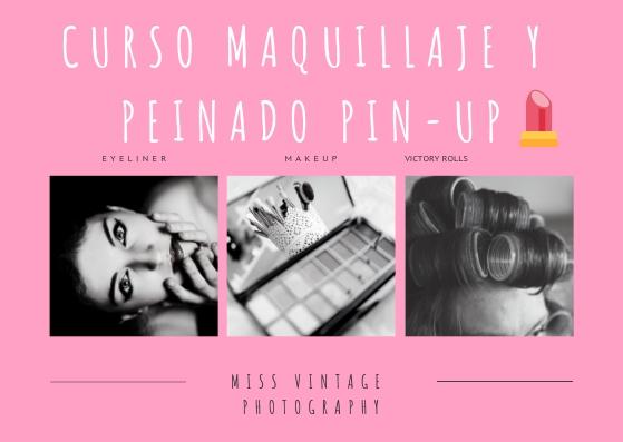 curso maquillaje pin-up